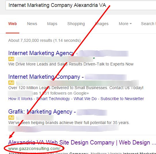 Internet Marketing Company Alexandria VA